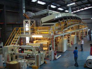 تصویر کارخانه تولید نوار چسب شیشه ای