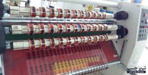 مراحل تولید نوار چسب شفاف کارتن چاپدار