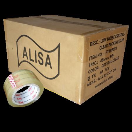 نوارچسب شیشه ای 90یاردی آلیسا Alisa
