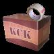 یک کارتن چسب نواری کریستال 5 سانت 90 یارد 38 میکرون KCK