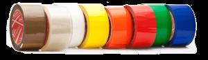 چاپ چسب نواری شیشه ای رنگی در رنگهای درخواستی